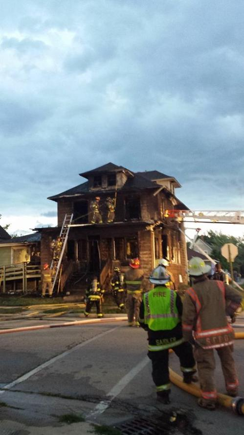Marquette fire 1
