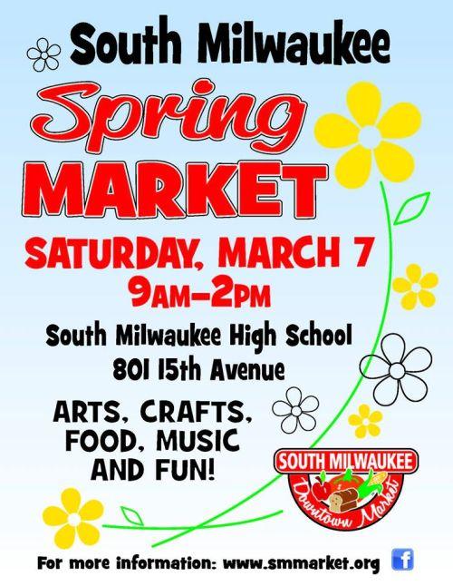 Spring market poster