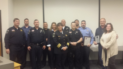 2015 police honorees