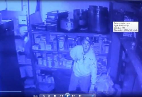 Azteca robbery