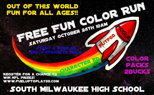 Color Run flyer
