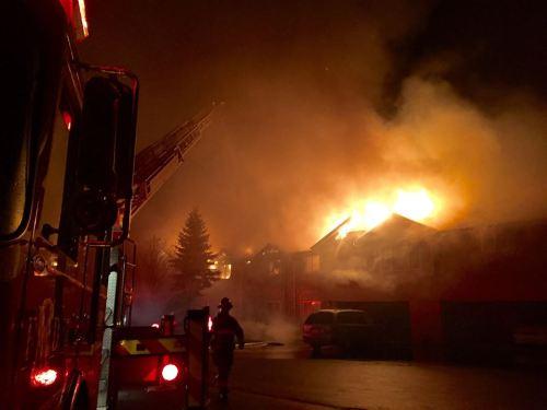 Oak Creek fire 1