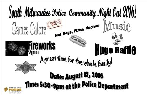 Night Out flyer 2016