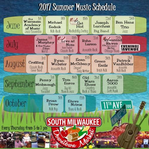 Summer Music at Market 2017FINAL