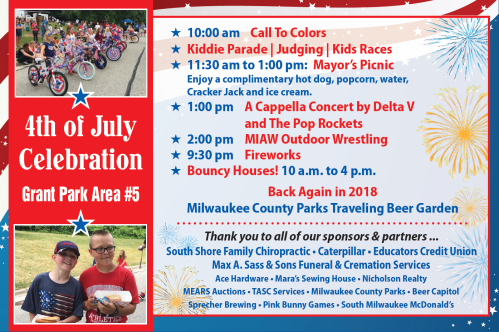July 4th schedule 6-18-18