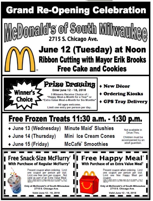 McDonalds flyer