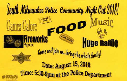 Community Night Out flyer