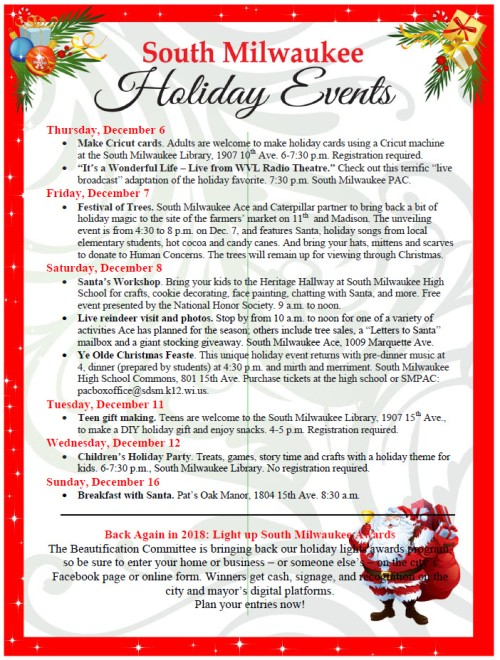 Christmas events 2018 page 2