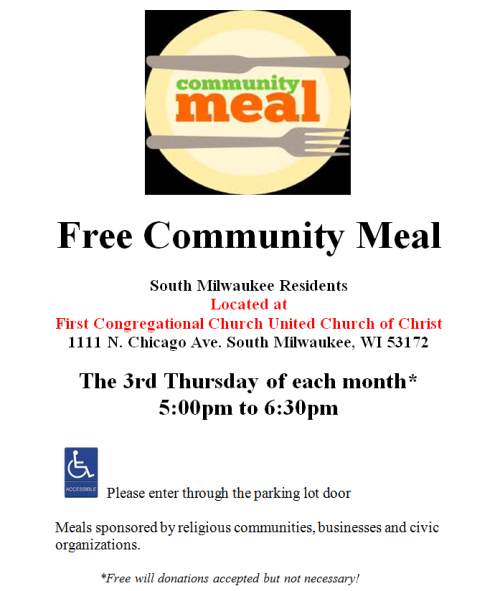 community-meal-flyer